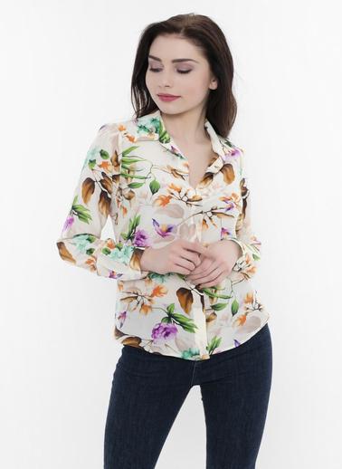 Silk and Cashmere Gömlek Renkli